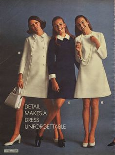 Sewing the 60s: Collars'n'cuffs My style in high school
