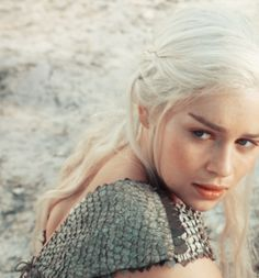 Daenerys Targaryen aka Khaleesi from Game of Thrones...inspired my latest puppy name :)