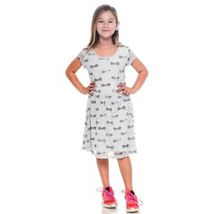 Girls Peanuts Snoopy Belle Lace Shell Dress