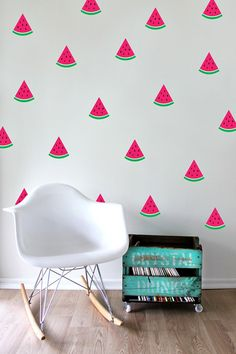 Speckled House-Kids Room Decor-Wall Decals{Watermelon Delight}