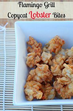 Flamingo Grill Copycat Lobster Bites - An Alli Event