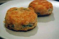Tuna potatoe cakes