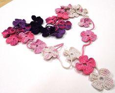 PDF Crochet Pattern Crochet Flower Scarf PDF by jelenateperik $4.20
