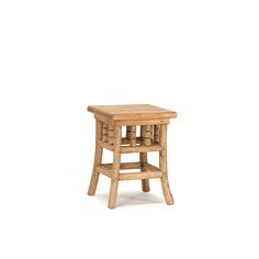Rustic Side Table #3377 in Pecan finish by La Lune Collection