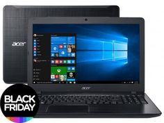 "Notebook Acer Aspire F5 Intel Core i5 6ª Geração - 8GB 1TB LED 15,6"" Windows 10 - Magazine Gileo"