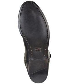 Frye Women's Melissa Button 2 Tall Boots - Brown 6.5M