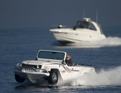 These might just be the funnest vehicles for land and sea.