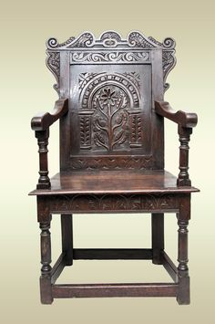 17th century West country armchair, Marhamchurch antiques