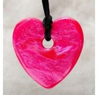 Teething Bling Pendant – Heart Shaped at FefisBaby Soothing Store. Beautiful heart pendant made of silicone , designed for adults to wear to soothe and entertain babies with emerging teeth. Teething Necklace For Mom, Teething Jewelry, Mom Jewelry, Jewelry Shop, Jewelry Design, Jewellery, Best Teething Toys, Sensory Tools, Heart Pendant Necklace