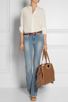 CHRISTIAN LOUBOUTIN Passage fringed textured-leather tote €1,745.00 http://www.net-a-porter.com/products/580355