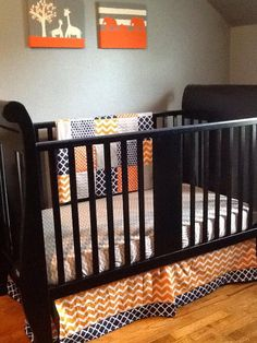 Hey, I found this really awesome Etsy listing at https://www.etsy.com/listing/234535531/crib-bedding-set-navy-blue-gray-and