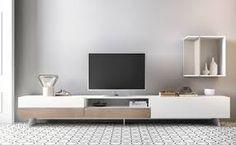 Resultado De Imagen De Muebles Salon Blanco Y Madera