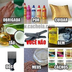 OBRIGADA POR CUIDAREM TÃO BEM DOS MEUS CACHOS! Menos você, chapinha 😓 hahahaha #cacheia #blogcacheia