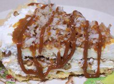 HEAVEN IN A PIE PLATE #recipe #justapinch