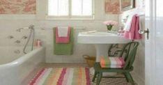 Beautiful Small Bathroom Ideas For you Colorful: Bathroom Design. Beautiful Small Bathroom Ideas For you Colorful Little Girl Bathrooms, Tiny Bathrooms, Beautiful Bathrooms, Bathrooms Decor, Cottage Bathrooms, Romantic Bathrooms, Decorating Bathrooms, Luxury Bathrooms, Bathroom Design Small