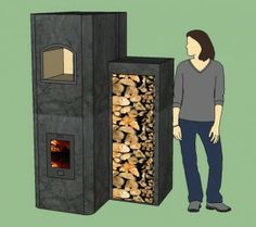 Wood Stove Design Decathlon Entry - The Helix