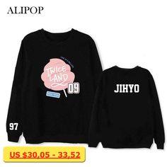 ALIPOP Kpop TWICE TWICELAND MOMO JIHYO Album Hoodie K-POP Cotton Hoodies Clothes Pullover Printed Long Sleeve Sweatshirts WY426