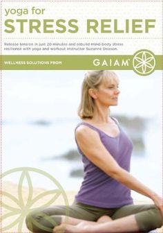 Yoga for Stress Relief DVD ~ Suzanne Deason, BEST STRESS RELIVER IVE EVER HAD