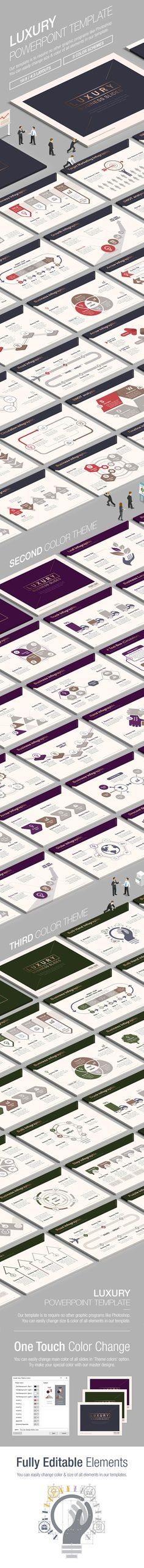 Business Luxury Powerpoint Template 002 (PowerPoint Templates)