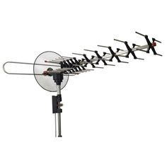 Antenna/TV/Digital/HD/Outdoor Tri-Boom Design with Up to 180 Miles for 4k/Satellite/TV UHF VHF Channels Signal HDTV/Antenna Outdoor Yagi TV Antenna