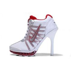 www.asneakers4u.com Nike Air Max High Heels Red White