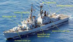 durand de la penne class destroyer armament oto-melara 127/54 compact gun oto-melara 76/62 super rapid gun albatros launcher aspide sam missile otomat teseo milas ssm asw b515 ilas-3 torpedo tubes mk-13 launcher standard sm-2mr tartar sam