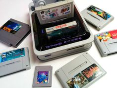 Dust the carts, blow on the connectors and play them all over again with the Hyperkin RetroN 5 Gaming System. Supports NES, SNES, Genesis, Famicom, Game Boy Advance, Super Famicom, Mega Drive, Game Boy Color, and Game Boy cartridges.