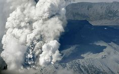 Japanese mountain climbers flee in terror as Mount Ontake erupts and an   expanding plume of ash descends to engulfs them