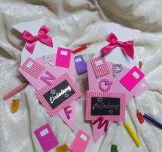 Blogger Themes, Kindergarten, Invitations, Pink, School, Gallery, Tableware, Beautiful, First Week Of School Ideas