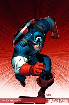 Captain America by Ed McGuinenss