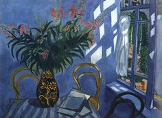 Interior with Flowers, ca.1918, Marc Chagall (1887-1985)