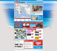 i-lovegreece.com // Case study // Conceptual Design and Website Development  i-lovegreece.com concept was so brilliantly simple, all that was needed when creating the website was to pass on this simple browsing experience to the visitor as fast and cleanly as possible. Time was spent working on the colour schemes and the interactivity to create the perfect site giving customers an experience will want to repeat, and pass on to friends.