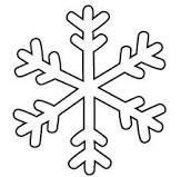 fiocco di neve disegno - Cerca con Google