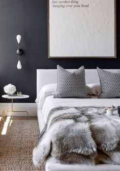 I mean this bed is everything! Bedroom ready to cuddle