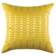 Kas Peak Cushion Yellow