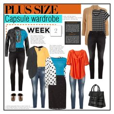 81ee6302375 Week 2 plus size outfits from capsule wardrobe 1