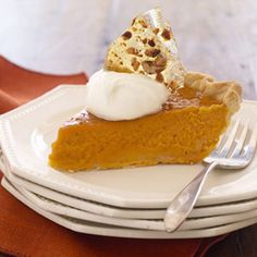 Pumpkin Pie with Pecan Brittle - WWPP - 8