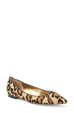 Sam Edelman 'Rae' Pointy Toe Ballet Flat (Women) available at #Nordstrom