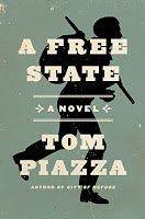 """Tom Piazza of New Orleans has published a novel featuring Henry Sims, a fugitive slave and musician, who has escaped to Philadelphia and ends up performing incognito in a minstrel troupe in """"A Free State."""""""