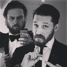 tom hardy variations — I like u | Tom Hardy + Greg Williams | Ten selfies...