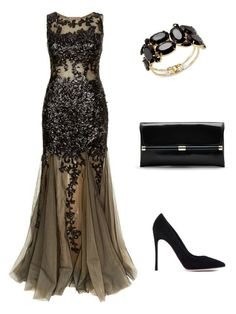 """uj"" by mironcheva1997 on Polyvore featuring мода, Jovani, Gianvito Rossi, Diane Von Furstenberg и Thalia Sodi"