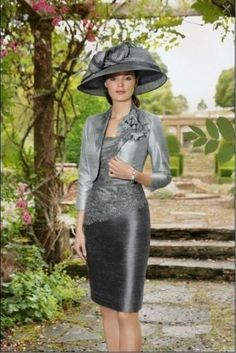 New-Silver-the-Mother-of-the-Bride-formal-party-dress-jacket-free-Elegant-2015
