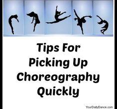 Picking+Up+Choreography... Dance Teacher, Dance Class, Dance Studio, Dance Moms, Just Dance, Jazz, Dance Convention, Dance Stretches, Dance Technique