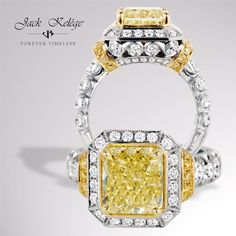 Jack Kelége makes his canary diamonds sing! Style: LPR 572(2)