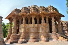 Sabhamandapa at Sun Temple, Modhera