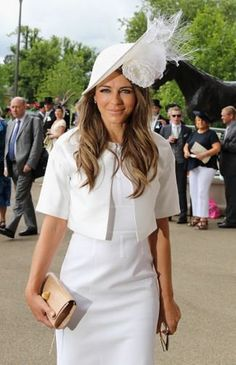 The 37 Craziest Hats From Royal Ascot 2016 Ascot Outfits, Derby Outfits, Ascot Dresses, Race Day Outfits, Races Outfit, Ascot Style, Kentucky Derby Outfit, Royal Ascot Hats, Races Fashion