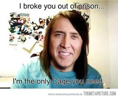 Overly Attached Nicolas Cage..HAHAHAHA @Kathryn Manalo