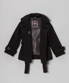 Product Code : YMIK-00001 Item Description : Black Double-breasted Coat     黑色孖襟褸   Size : 7/8 (Ages 6-8, 130-137cm) Price : HK$339 Whatsapp : (+852) 6924-3068 http://www.facebook.com/BeesyTots