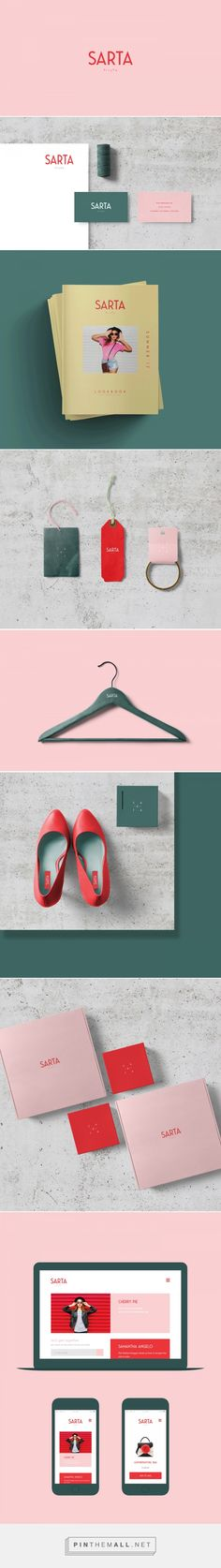 Sarta Milano Fashion Branding by Marka Network | Fivestar Branding Agency – Design and Branding Agency & Curated Inspiration Gallery