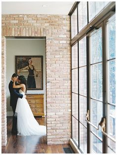 Happy bride and groom at Apiary Fine Catering and Events in Lexington, KY. Image by Nina & Wes Photography.